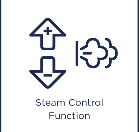 Steam control function