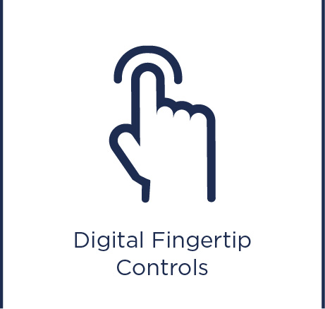 Digital fingertip controls