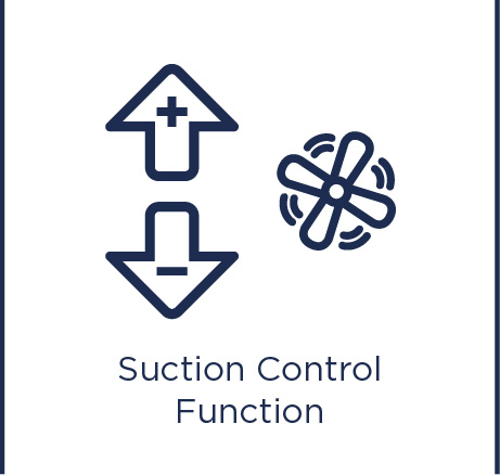 Suction control function