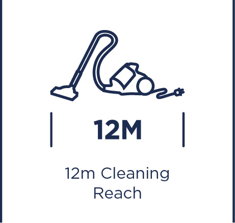 12m cleaning reach