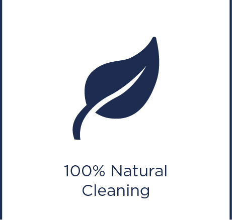 100% natural cleaning