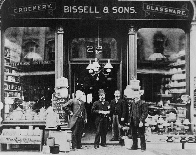 BISSELL crockery shop